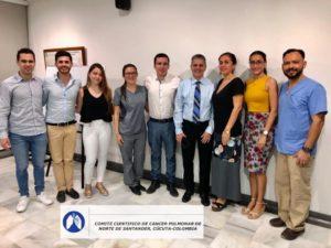 COMITÉ DEPARTAMENTAL DE CANCER PULMONAR(CDCP) NOVIEMBRE (T1E11) 2019. CASOS COMPLEJOS; APORTANDO Y PERSISTIENDO!