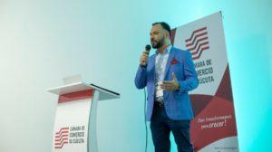 El Doctor Marcel Quintero , Director Científico de INTORAX. Presentó la conferencia: «A TODO PULMÓN» en el marco de la agenda académica de la EXPO SALUD BIENESTAR Y BELLEZA 2019 organizado por la Cámara de Comercio de Cúcuta el 22 de noviembre.