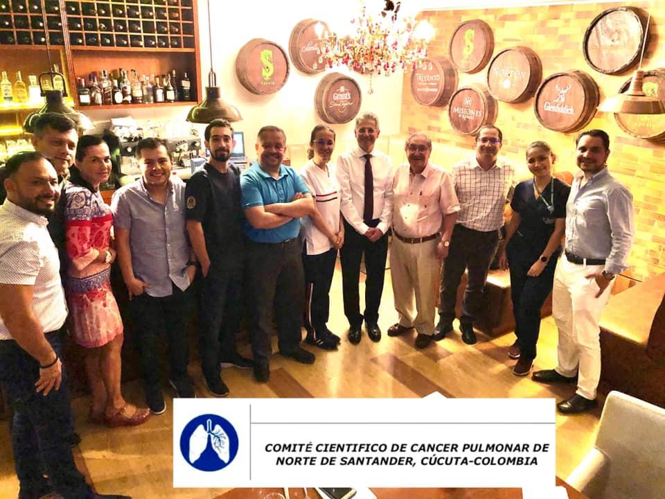 T2E1 COMITÉ DEPARTAMENTAL DE CANCER PULMONAR (CDCP) CÙCUTA, NORTE DE SANTANDER, COLOMBIA 🇨🇴 APRENDIZAJE, ACTUALIZACIÓN Y DISPOSICIÓN EN EL 2020.