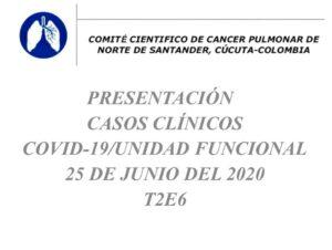 COMITÉ DEPARTAMENTAL DE CANCER PULMONAR(CDCP) IV VIRTUAL; TEMPORADA 2 EPISODIO 6 (T2E6) NORTE DE SANTANDER, COLOMBIA 🇨🇴!