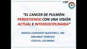 "CLASE: ""CÁNCER PULMONAR"" PRIMERA PARTE. Estudiantes VIII semestre UPA. 5/09/2020"