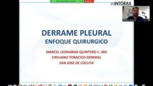 """""""DERRAME PLEURAL: ENFOQUE QUIRÚRGICO"""" Clase VIII Semestre UPA. 16/10/2020"""
