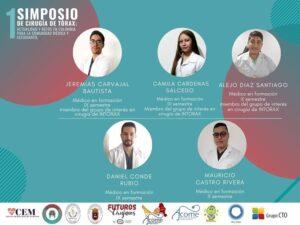 """Es un placer para nosotros presentarles a los estudiantes que serán ponentes en el Primer simposio de cirugía de tórax: Actualidad y retos en Colombia para la comunidad médica y estudiantil.Que esperas para inscribirte, en la descripion encontrarás el link de inscripción!!! <a href=""""https://forms.gle/i7ZCssZsaDARrpJJ6?fbclid=IwAR1XXaRHuQGcmBjXXtQcXwXlUKNtInoNk_cbivrLm3gkLi5fqDAaHjXJdfY"""" rel=""""noreferrer noopener"""" target=""""_blank"""">https://forms.gle/i7ZCssZsaDARrpJJ6</a>"""