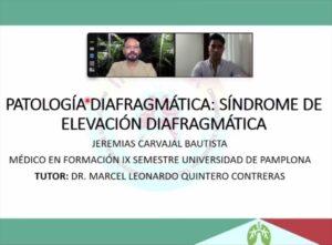 """""""No puede el médico curar bien sin tener presente al enfermo"""". (Séneca)""""PATOLOGÍA DIAFRAGMÁTICA"""" Por GRUPO DE INTERÉS EN CIRUGÍA INTÓRAX @jecarv @intorax.cucuta @dr_joseluisrodriguez @rodriguezradiologos"""